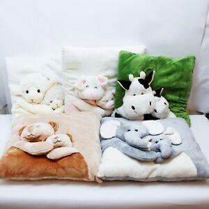 Cartoon Animal Plush Pillow Stuffed Cushion Home Decor Cute Gift Toy