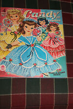 Vintage 1961 Candy and her Cousins Paper Dolls