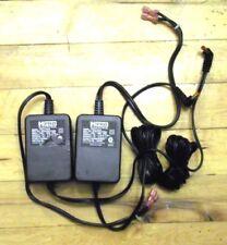 Harman 9v 2.1a Power Supply Pair- Spade HPRO Pedalboard Adaptor 3v Secondary .1a