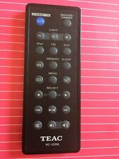 Original TEAC RC1231B REMOTE CONTROL RC-1231B FOR TEAC SR-LUXi - Tested