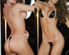 Women Lingerie Swimwear Micro Bikini G-String Thong Ladies Swimsuit Bra Set Mini