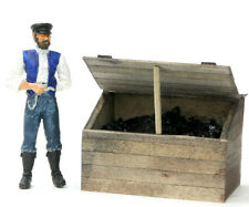 F/G scale BANTA MODEL WORKS #912 Coal Bin, 1 per kit