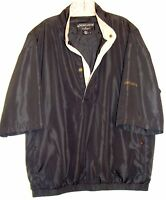 FOOTJOY DRYJOYS MENS GOLF SHORT SLEEVE WINDBREAKER JACKET SHIRT SIZE L  B1