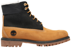Grade School Youth Size Timberland 6 Inch Premium Shearling Boots TB0A2MZY 231