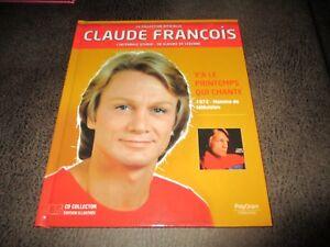 Claude François-Cd 14 succès-1972+livre-Collection officielle