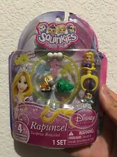 New Squinkies Disney Princess Rapunzel Surprize Bracelet 4squinkies included U.S