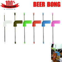 Beer Snorkel STRAIGHT Funnel Drinking Straw Games Hens Bucks Party Entertainment