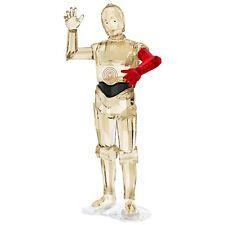 Swarovski Figurine 5290214 Disney Star Wars C-3po 11 3 Cm. Top