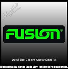 FUSION - DECAL - 315mm x 90mm X 2 - DECAL