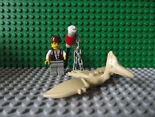 "Lego Dino Isla aventureros ""Mike"" Mini Figura Con Pteranodon neto Set 5921"