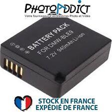 iBAT BLE9 - Batterie compatible PANASONIC DMW-BLE9 / BLE9PP 940mAh-Haute qualité