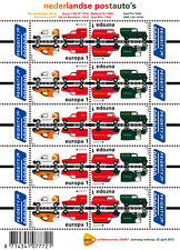 Nederland 2013  Europa Postauto's V3055-3056  vel  postfris/mnh