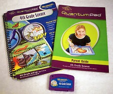 Quantum Leap 4th Grade Science Cartridge, Game Book, & Parent Guide by Leap Frog