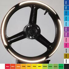 REFLECTIVE MOTORCYCLE or CAR CUSTOM RIM STRIPES WHEEL DECALS TAPE STICKERS 3M 17