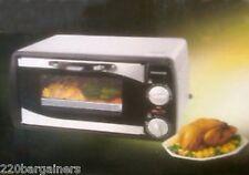 Frigidaire NEW 220 Volt 9-Liter 800w Toaster Oven Europe Asia Africa 220v 240v