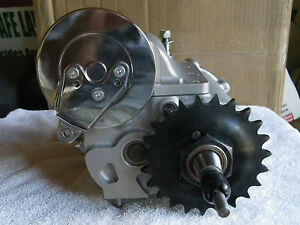 BAKER 6-speed in a 4 speed trans case  Harley with KICKER ..1936-1984