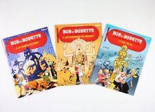 BD prix mini Bob et Bobette Assortiment de 3 albums offerts par Delhaize ; Le la