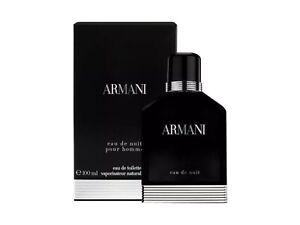 Giorgio Armani Eau De Nuit Pour Homme 100ml Eau De Toilette New and NO SEAL