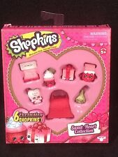SHOPKINS SWEET HEART COLLECTION EXCLUSIVE SHOPKINS BRAND NEW SEALED