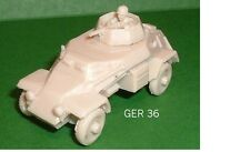 Seconda Guerra Mondiale Tedesco Sd. KFZ. 223 LT AUTOBLINDA Modello in RESINA KIT-G28