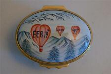 """Halcyon Days Enamels """"Jacobson's Exclusive"""" Valentine's Day 2000 Trinket Box"""