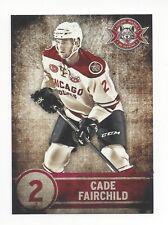 2013-14 Chicago Wolves (AHL) Cade Fairchild (Dinamo Riga)