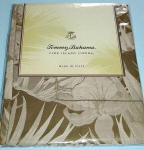 Tommy Bahama Jungle Fever Euro Sham SET/2 Egyptian Cotton Sateen 600TC Italy New
