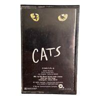 Cats The Musical Original Broadway Cast Recording Cassette Tape