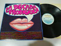 "La Decada Prodigiosa 1985 Hispavox - LP Vinilo 12"" VG/VG"