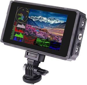 C50TLS 5 Inch IPS DSLR Camera Field Monitor 2000nit Daylight Viewable 3D LUT Tou