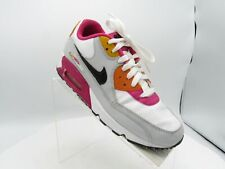 Nike Air Max 90 345017-113 Size 6.5Y Multicolor Running Sneakers Shoes For Girls