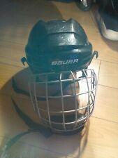 Youth/Jr Bauer Bhh2100S Ice Floor Hockey Helmet True Vision Fm2100 Cage Mask