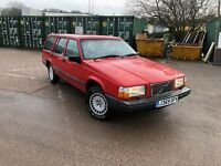 1992 VOLVO 740 GL 2.0 ESTATE 7 SEATER MANAUL PX WELCOME TOW BAR 940 240