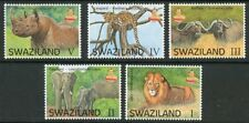 SWAZILAND 2017 BIG 5 ANIMALS SET  MINT NEVER  HINGED
