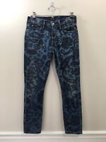 Citizens of Humanity COH Low Rise Skinny AVEDON Jeans Paisley Print size 26