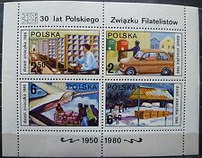 Polen 1980 Mi Block 83 - Tag der Briefmarke