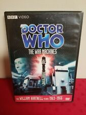 Doctor Who the War Machines Dvd Out of Print Rare William Hartnell 1963-1966 Oop
