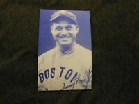 1980 Baseball Hall of Fame Art Exhibit Card - Jimmy Fox - Boston Red Sox Very Go