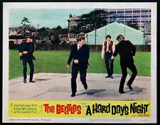 A HARD DAY'S NIGHT THE BEATLES 1964 LOBBY CARD #2