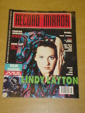 RECORD MIRROR 1990 AUG 11 LINDY LAYTON PREFAB SPROUT