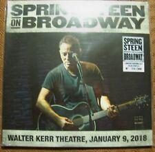 "BRUCE SPRINGSTEEN ""ON BROADWAY WALTER KERR THEATRE JAN 2018"" 3 BLUE LP N.6/300"