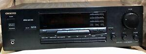 Onkyo TX-8511 Home Theater Stereo Receiver Amplifier 100W AV Cords No Remote