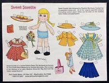 Sweet Suzette Magazine Paper Doll, by Paulette Morrissey