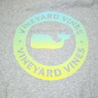 Vineyard Vines Short Sleeve Pocket T-Shirt Mens Size XL Gray Gradient Whale Tee