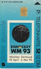 Eishockey WM 93 / Warsteiner Premium / sports card / S79 11.92 ... / 1993