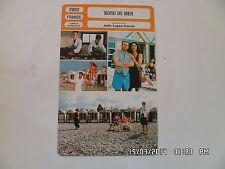 CARTE FICHE CINEMA 2002 BORD DE MER Bulle Ogier Helene Fillieres Ludmila Mikael