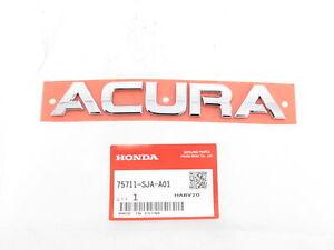 "Genuine Acura 75711-SJA-A01 ""ACURA"" Nameplate Lift Gate Emblem Badge TSX TL RDX"