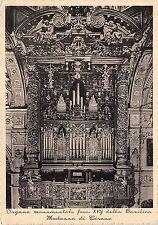 Cartolina - Postcard - Tirano - organo della Basilica - 1937