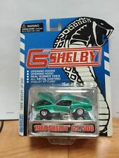 Shelby Collectibles 1/64 Diecast 1968 Shelby GT500 Bright Metallic Green HTF LTD