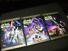 Original Unaltered Star Wars IV V VI  LIMITED EDITION Theatrical Widescreen DVD
